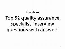 Quality Assurance Interview Questions And Answers Top 52 Quality Assurance Specialist Interview Questions