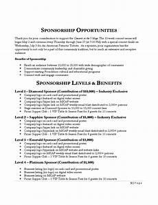 Music Proposal Template 6 Sponsorship Proposal Templates Proposal Template