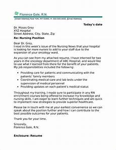 New Graduate Nursing Cover Letter Samples New Graduate Nurse Cover Letter Sample