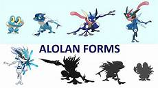 Pokemon Froakie Evolution Chart Alolan Forms Greninja Evolution Ice Fairy Happy New