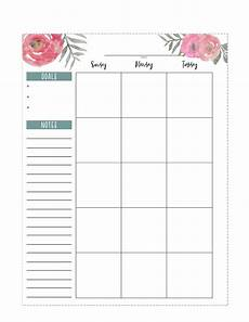 Planner Pages Happy Planner Free Printable Pages Floral Paper Trail
