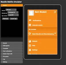 Moodle Mobile Themes Moodle Mobile 1 Simulator Moodledocs