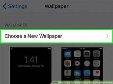 Iphone 8 Home Screen Wallpaper by How To Set The Home Screen Wallpaper On An Iphone 8 Steps