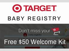 Create a Target Baby Registry to Get a Free Welcome Bag