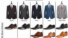 Suit Color Matching Chart Match Your Suit And Shoes Perfectly With This Cheat Sheet
