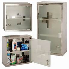 wall mounted lockable stainless steel medicine cabinet