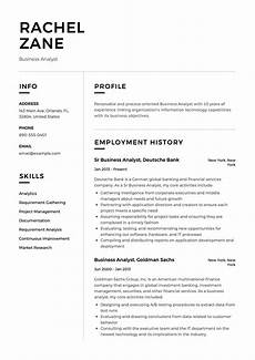 Project Analyst Resume Sample Business Analyst Resume Sample Template Example Cv