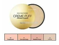 Max Factor Creme Puff Colour Chart Max Factor Creme Puff Ebay