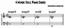 Jazz Chord Chart For Piano 4 Different Way To Play Minor Jazz Piano Chords