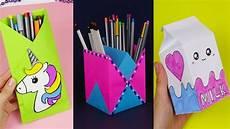 30 diy school supplies easy diy paper crafts ideas