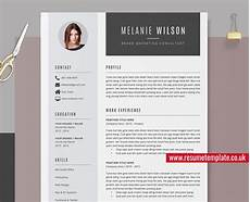 Resume Template Ms Word Modern Resume Template Word Cv Template Cv Sample