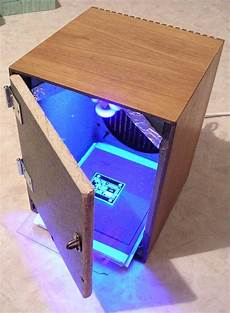 Uv Light Box For Cyanotypes Electronics Creating Two Sided Pcbs
