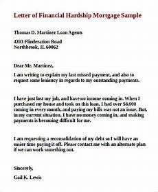 Sample Of Hardship Letter Free 9 Sample Financial Hardship Letter Templates In Ms