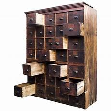 large antique multi drawer storage cabinet circa 1890s