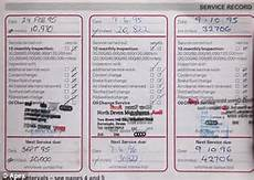 Car Service Record Book If It Ain T Broke Don T Fix It Thrifty Driver Whose Car