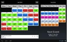 4 On 4 Off Shift Calendar App Shift Work Calendar Android Apps On Google Play