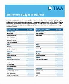 Retirement Budget Planner Retirement Expense Worksheet Emmamcintyrephotography Com