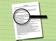 Results Oriented Resume How To Make Your Resume Roar Results Oriented And