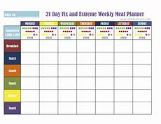 Meal Tracking Worksheet 21 Day Fix Meal Plan Tools Get Fit Lose Weight Feel