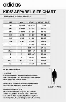 Adidas Shorts Size Chart Adidas Jacket Kids Ebay
