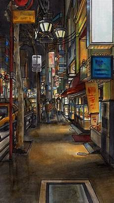City Painting Iphone Wallpaper 30 amazing illustrations iphone wallpapers iphone