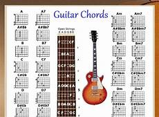 Electric Guitar Chords Pdf Guitar Chords Chart Amp Note Locator Small Chart 48
