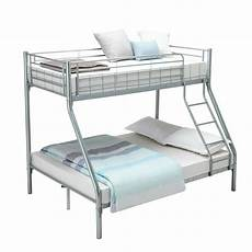 Panana 2 X 3ft Single Metal Bunk Bed 2 by Panana Bunk Bed Frame 3ft Single 4ft6 Beds Metal