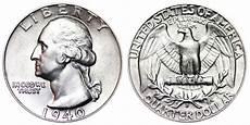 1932 D Quarter Value Chart 1940 D Washington Quarters Silver Composition Value And