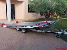 rimorchio porta auto vendo rimorchio carrello trasporto auto in alluminio 500