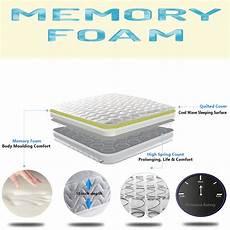 memory foam matress new quilted sprung mattress 3ft single