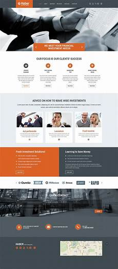 Php Site Template Investment Company Web Template