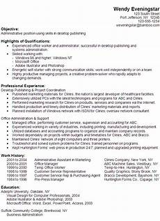 Administrative Functional Resume Functional Resume Example Administrative Position