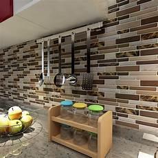 backsplash for kitchen walls art3d 12 quot x 12 quot peel and stick tiles for kitchen