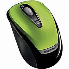 Microsoft Mouse Green Light Microsoft Wireless Mobile Mouse 3000 Green 6ba00022 B Amp H