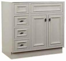 jsi danbury 42 quot white 3 lh drawer bathroom vanity base