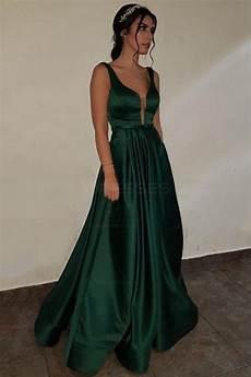 v neck green prom evening formal dresses 3021541