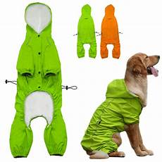 coats for dogs large rains pet hooded raincoat for medium to large dogs