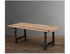 ikea tavolo legno ferro loft industria legno rustico agriturismo tavolo