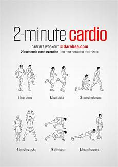 Cardiovascular Exercise 2 Minute Cardio Workout