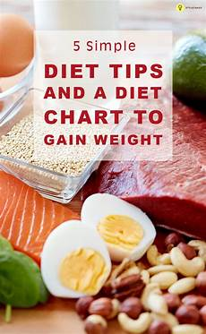 How To Gain Weight By Food Chart 11 Simple Diet Tips And A Diet Chart To Gain Weight