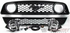 Mustang Light Conversion Kit Mustang Gt Style Fog Light Conversion Kit Fits V6 And Gt