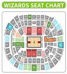 Washington Wizards Seating Chart With Rows Wizards Promotional Schedule 2018 Tickets Giveaway Games