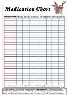 Drug Compatibility Chart 2016 Medication Chart Printables Pinterest