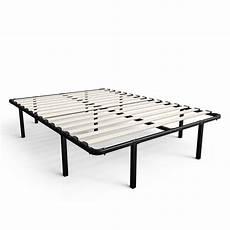 zinus 14 inch myeuro smartbase wooden slat mattress