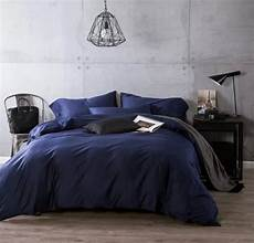 luxury navy blue cotton bedding sets sheets