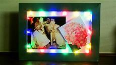 Fairy Lights Picture Frame Diy Led Frame Learn How To Make A Fairy Light Frame For