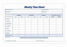 Time In Time Out Sheet Adams Time Sheet Weekly 2 Part Carbonless 100 St Pk