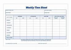 Two Week Timesheet Adams Time Sheet Weekly 2 Part Carbonless 100 St Pk