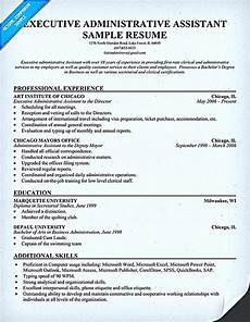 Keywords For Executive Assistant Resume Executive Administrative Assistant Resume Example