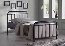 metal bed frame by time living miami bed black